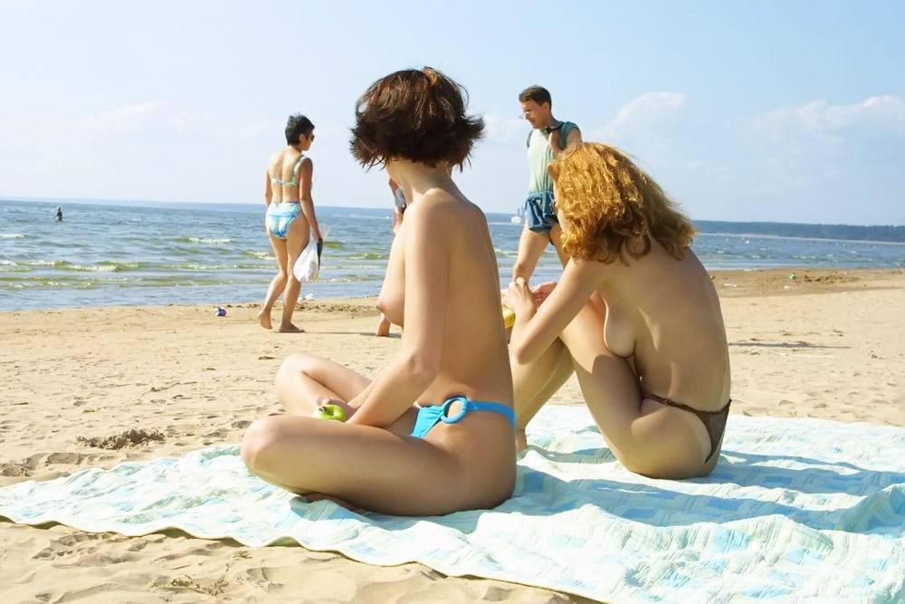 фото без комплексов на пляже